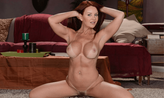 Who is the hottest redhead pornstar