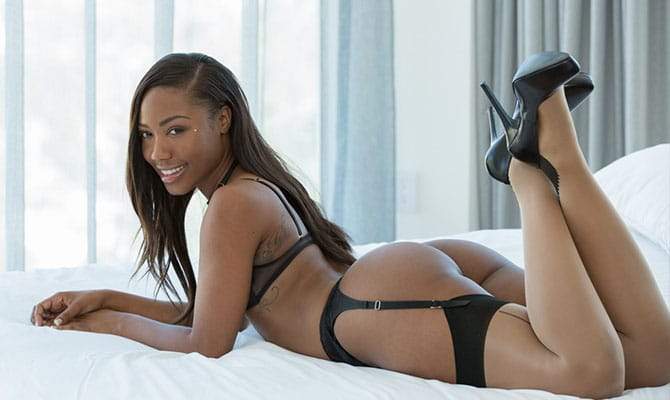 Favorite black pornstar best body